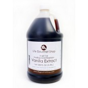 Pure Vanilla Extract  GALLON Single Fold