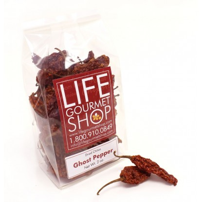 Dried Ghost Pepper 1 oz.